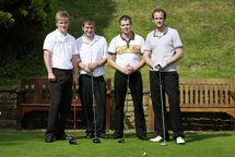 Golf day laughter Uk