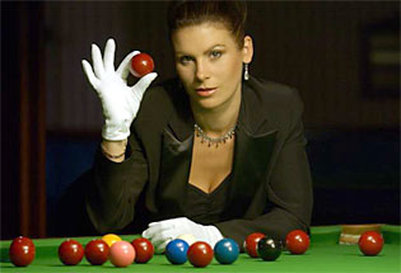 Michaela Tabb, Snooker referee for exhibitions